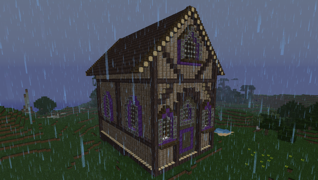 ayla's cottage in the rain